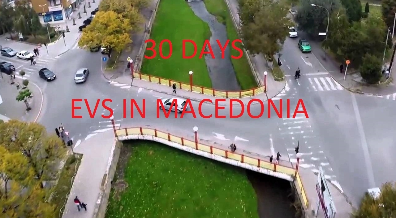Road to volunterism - project in Macedonia