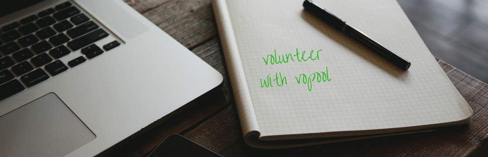 Volunteer with Vopool