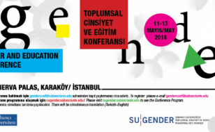 SU-GENDER Gender and Education Conference 11-13 may Istanbul