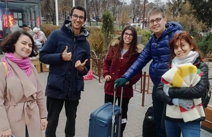 Göksu ÖZ from Turkey Volunteered for 2 Months in Ukraine - Sumy